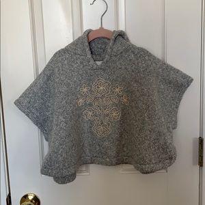 Gray Floral sweater Rana
